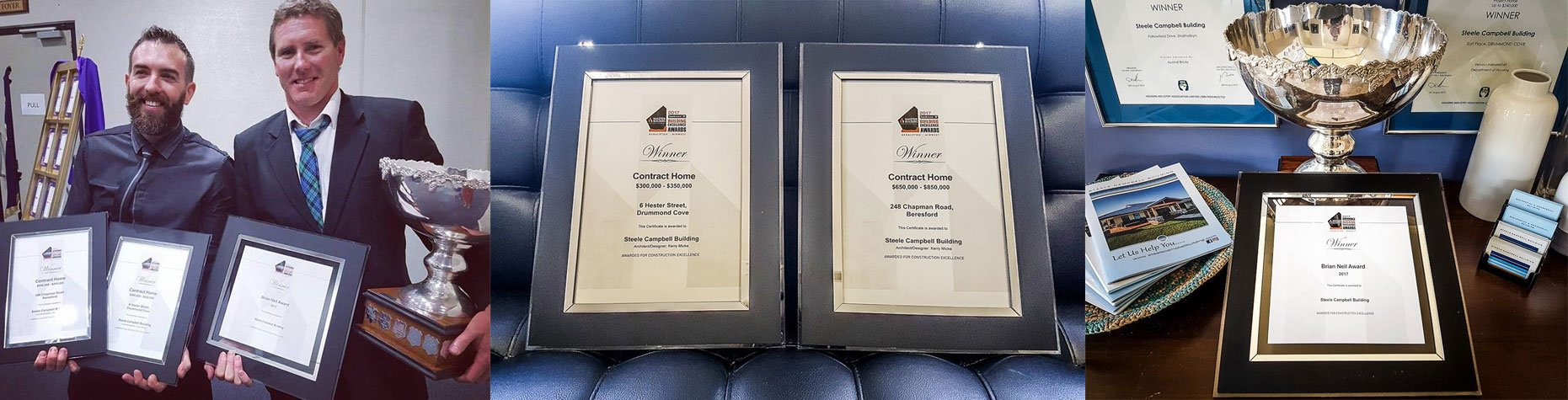 Steel Campbell Builders awards